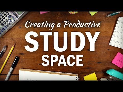7 Tips for Creating the Perfect Study Space