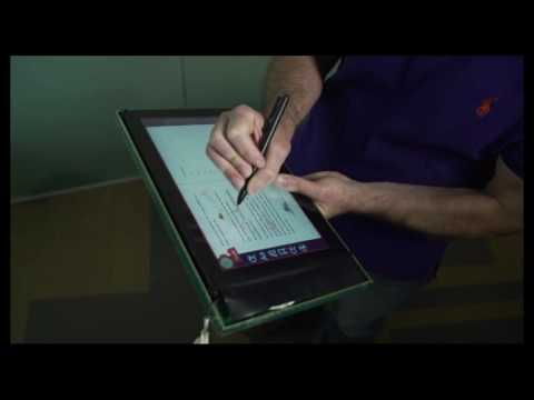 Sensing Tablet Grasp + Micro-mobility for Active Reading