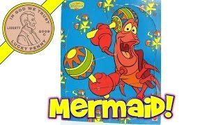 Disney Little Mermaid Sebastian The Crab # 41454 Wood Frame Tray Puzzle - Stop-Motion Animation Fun