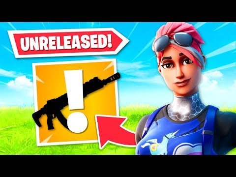 Using A *new* Unreleased Weapon In Fortnite! How To Use It