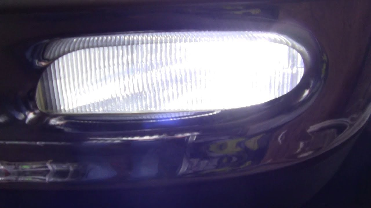 Halogen To Led Fog Light Upgrade Expedition 1997 2002 And F 150 2003