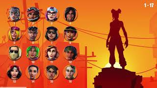 Guess the skin by the shadow-Fortnite-