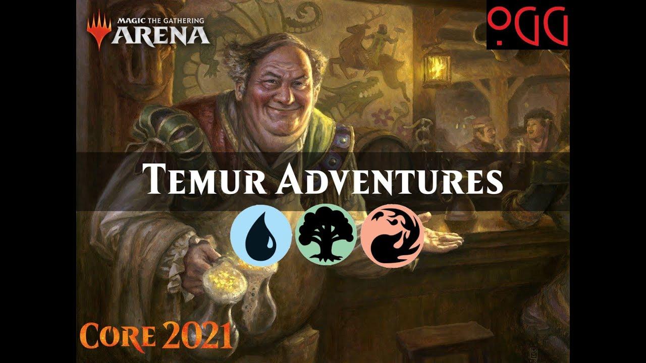 MTG: Arena Deck Tech - Temur Adventures Standard 2021 [M21]