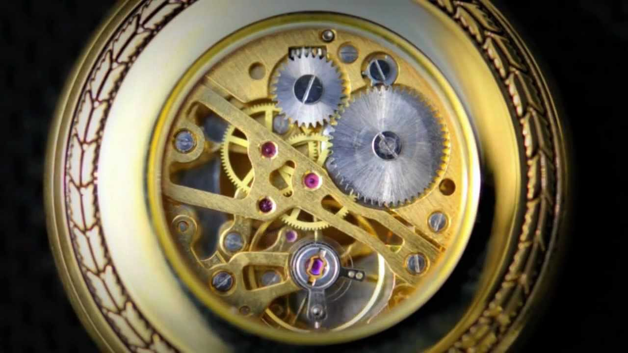 Maquinaria de Reloj en Movimiento - YouTube