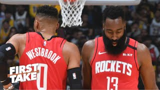 Is the Rockets' small-ball strategy proving to be a mistake? | First Take