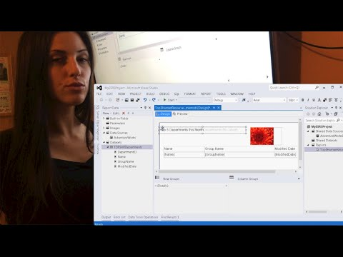 SSRS Tutorial: How to create a report in SQL Server Reporting Services