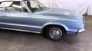 DustyOldCars.com 1965 Dodge Polara Conv. SN 1036