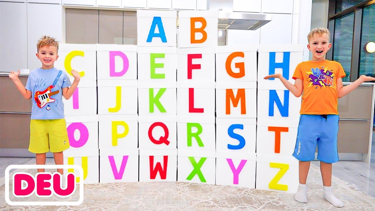 ABC Lerne Englisch Alphabet mit Vlad und Niki