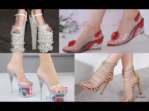 Beautiful High Heels Sandals Designs Latest Stylish Fashion For Women 2019 Youtube