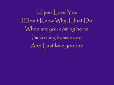 I Just Love You (cover) by Adam Lambert (~~Lyrics~~) - YouTube