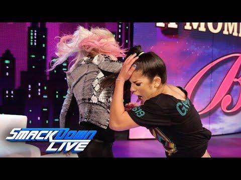 """Alexa Bliss slaps Bayley on """"A Moment of Bliss"""": SmackDown LIVE, June 18, 2019"""