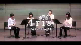 アーティスト:アイリス クラリネットカルテット 映像収録:フルトデル...