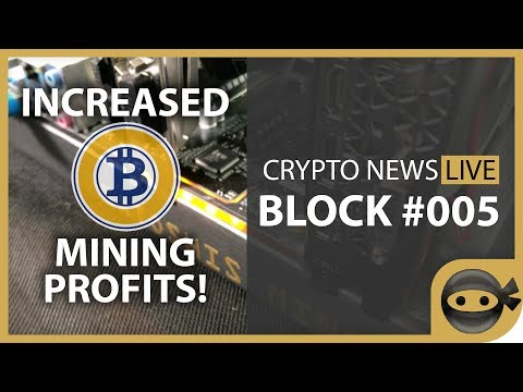 Bitcoin Gold Mining Profitability - BLOCK #005