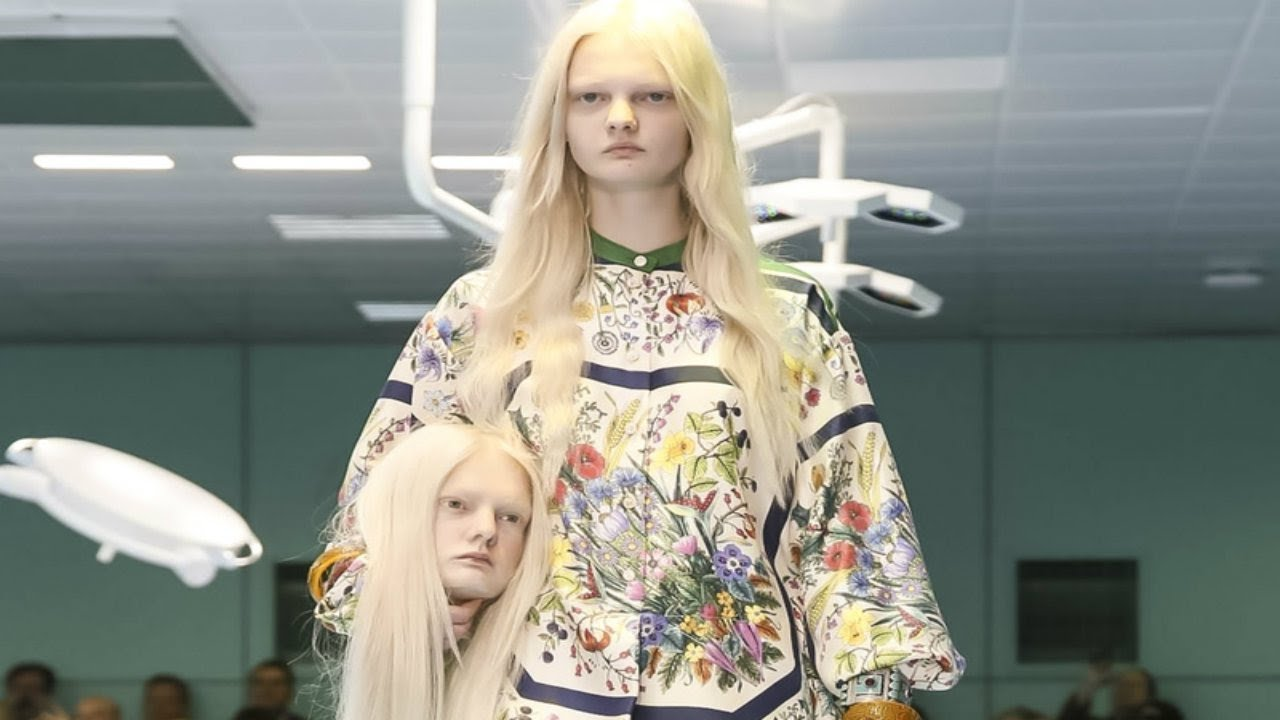 Image result for gucci fashion at milan fashion show
