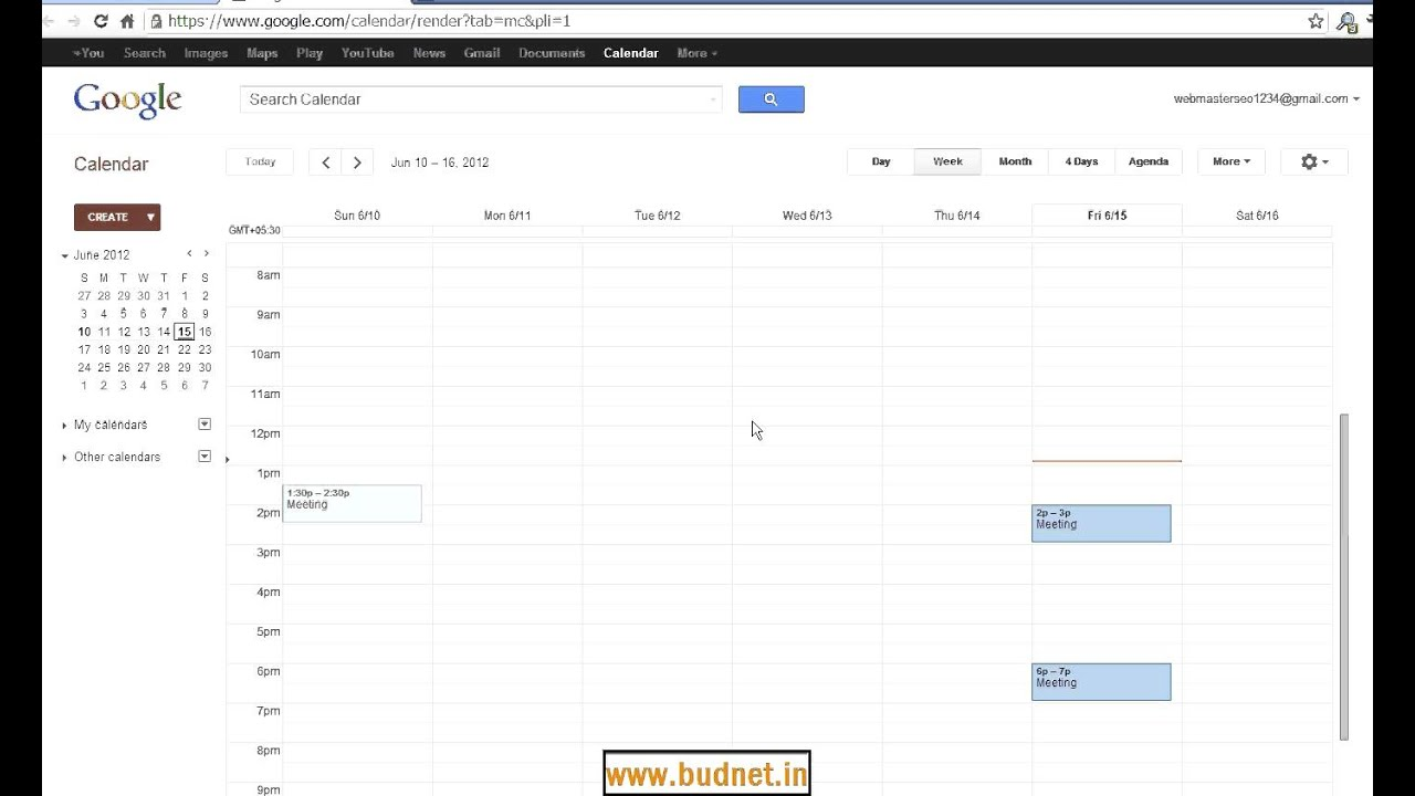 how to add gmail event to calendar