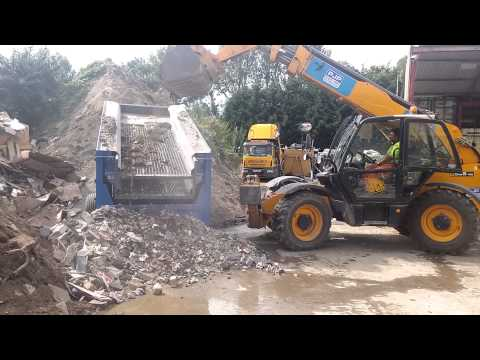 Waste screener, Ultra soil screen screening waste