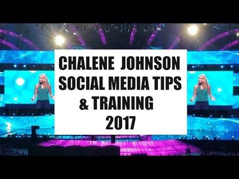 Chalene Johnson |  2017 Top Social Media Tips | Training