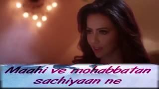 Wajah Tum Ho Maahi Ve Full Song With Lyrics   Neha Kakkar, Sana, Sharman, Gurmeet   Vishal Pandya