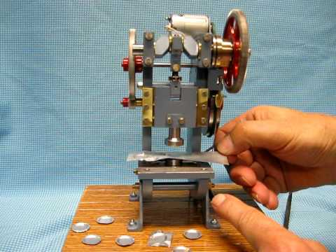 Miniature Punch Press Youtube