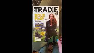 Tradie Magazine Covergirl