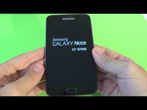 Samsung Galaxy Note N7000 hard reset