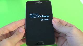 Samsung Galaxy Note N7000 hard reset