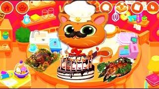 Cartoon Game Om Nom Network Bubbu Restaurant 2 😻 Мультик Игра Суровый КОТИК БУБУ в Ресторане