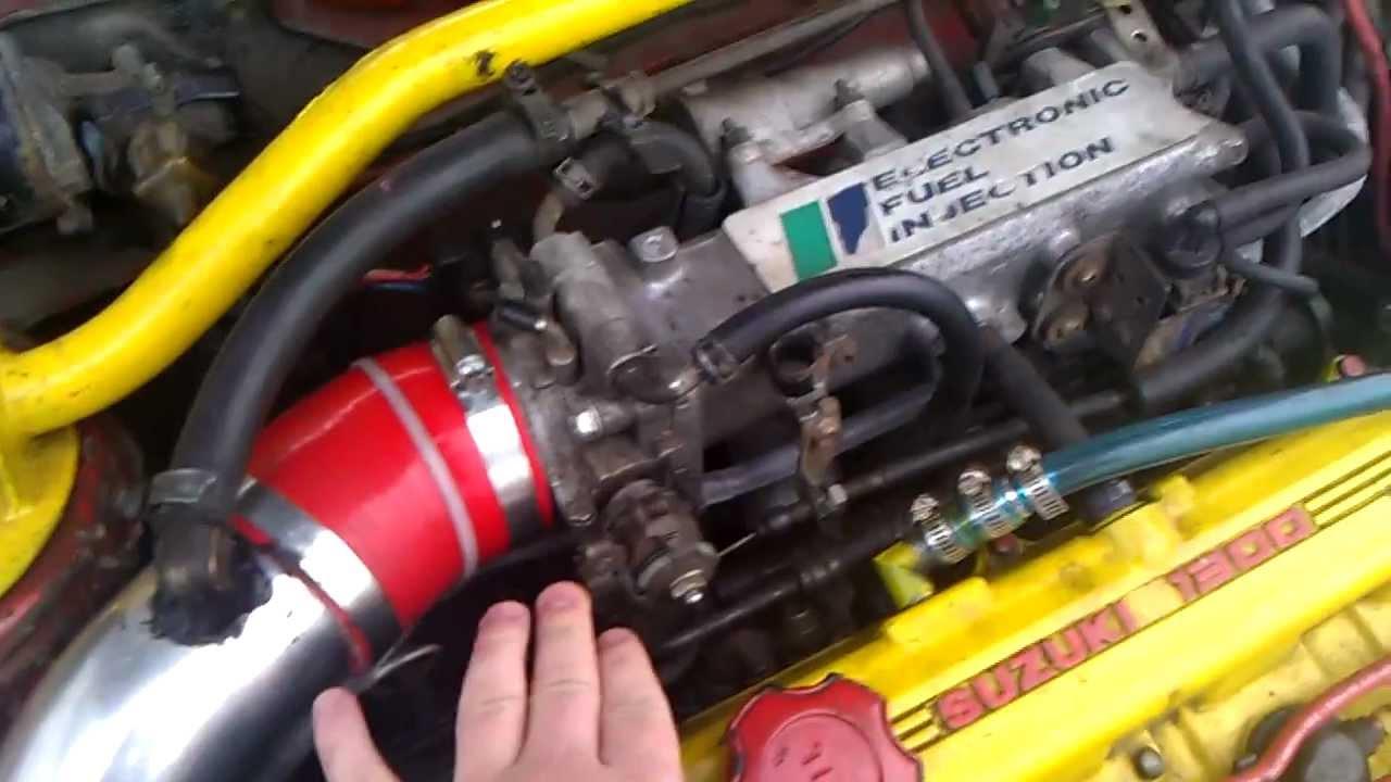 swift 1.3 gti 260 deg 8.95mm lift cams cold engine - youtube