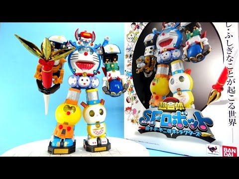 "Chogokin SF Robot Fujiko F. Fujio Characters ""Robo Doremon"" - P2 Ráp Combination SFロボット 藤子・F・不二雄"