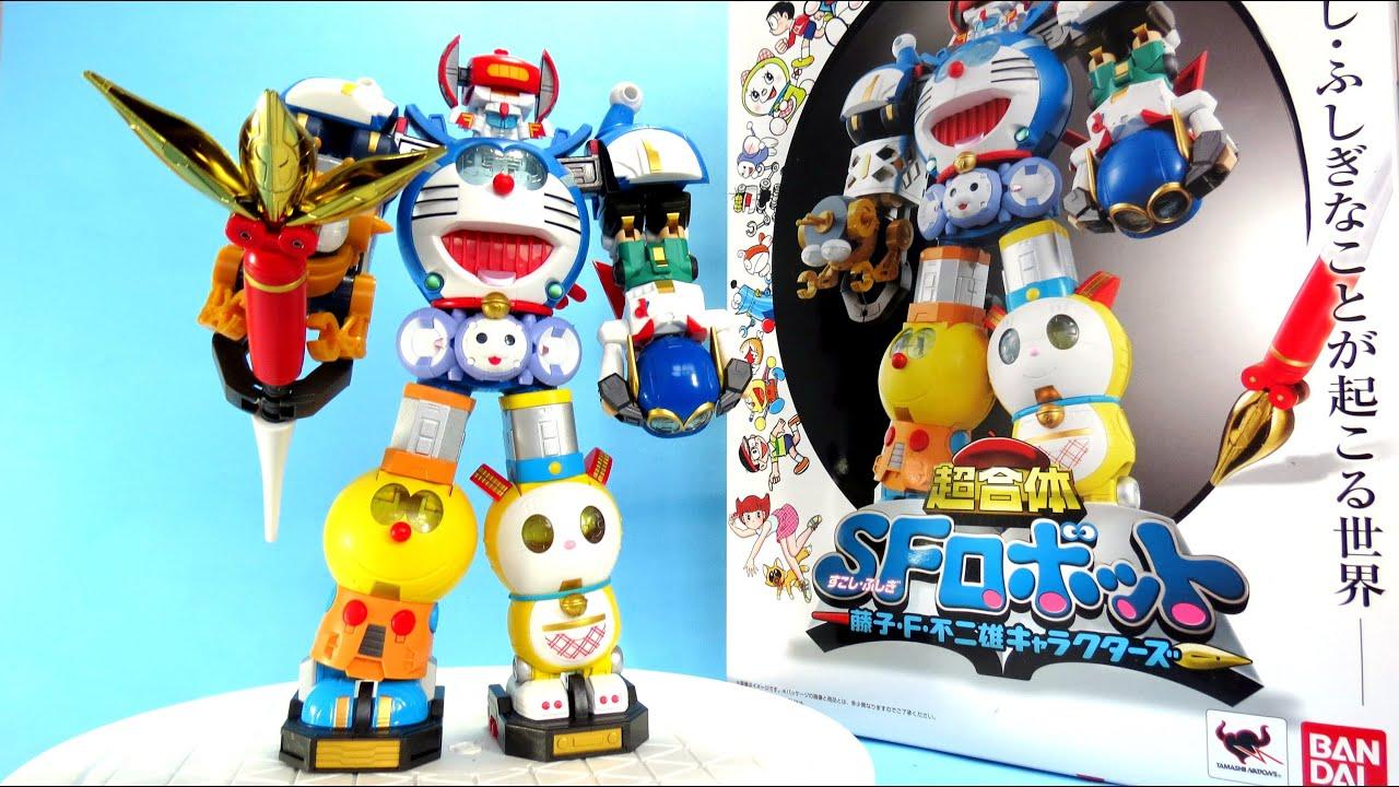 "Chogokin SF Robot Fujiko F. Fujio Characters ""Robo Doremon"" – P2 Ráp Combination SFロボット 藤子・F・不二雄"
