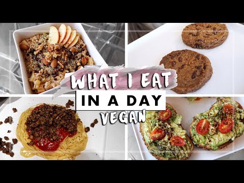 WHAT I EAT IN A DAY: Vegan + Easy! 🌱(12)