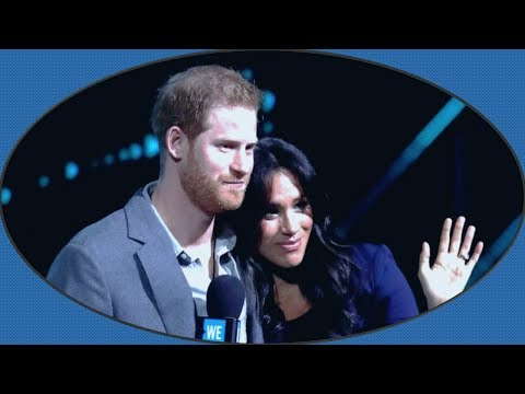 Prince Harry & Meghan Markle's body language on We Day UK 2019