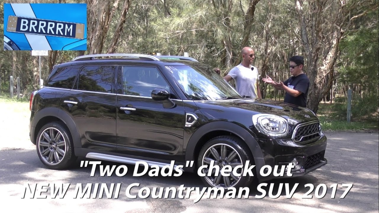 all new mini countryman suv 2017 two dads review. Black Bedroom Furniture Sets. Home Design Ideas