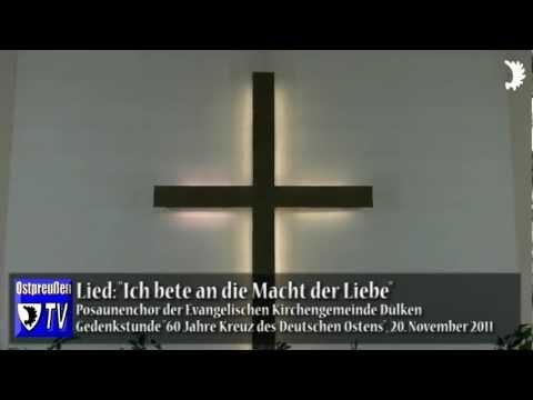 Ökumenische Andacht und Totengedenken - 60 Jahre Kreuz des Deutschen Ostens in Dülken