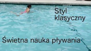 Świetna nauka pływania - styl klasyczny (żaba)
