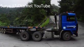truck trailer volvo fl10 manuver