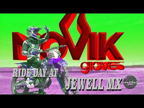 Novik Gloves - Ride Day at Jewell Mx 6-2-16