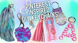Cute DIY Keychains! (Easy Gift Ideas)