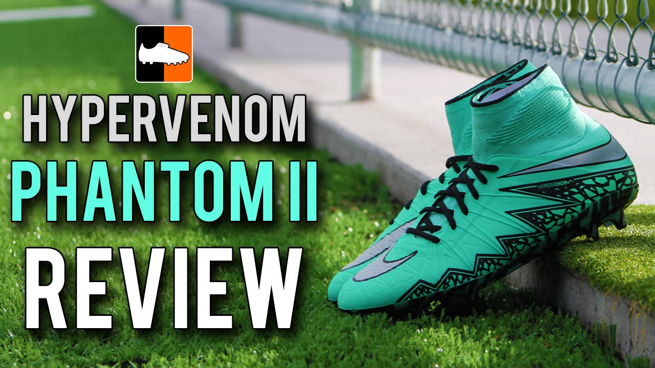outlet store 82263 0aeff Hypervenom Phantom II Review   Nike Metal Flash Football Boots - YouTube