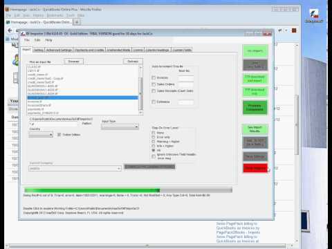 IIF Importer to QuickBooks desktop and QuickBooks Online