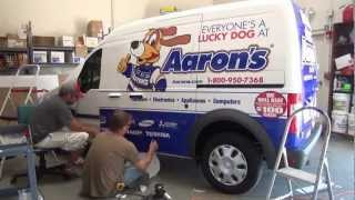 Aaron's - Vehicle Wrap