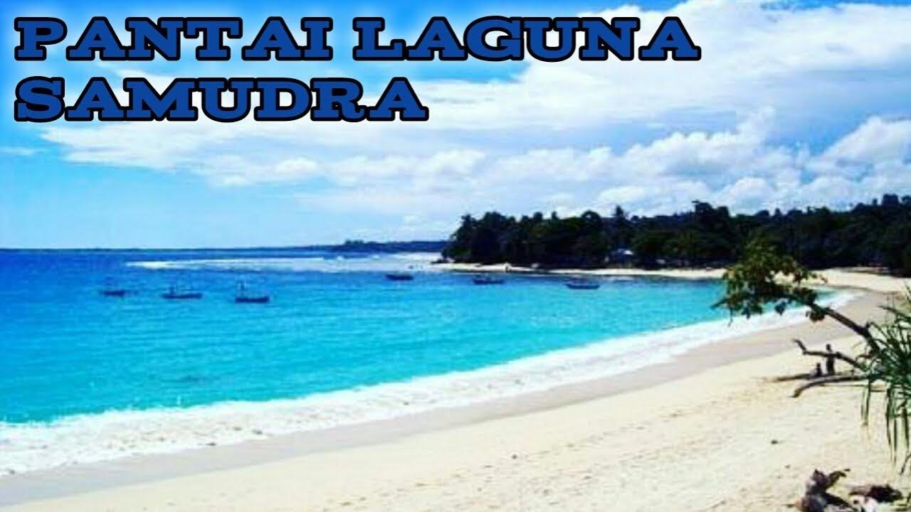 Wisata Pantai Laguna Samudra Merpas Kabupaten Kaur Bintuhan Bengkulu  Indonesia