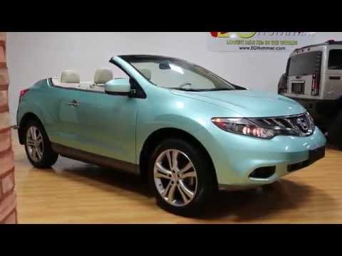 2012 Nissan Murano CrossCabriolet For Sale~Caribbean Pearl~1  Owner~Navi~RARE!!!