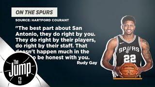 Did Rudy Gay take a shot at Kawhi Leonard?   The Jump   ESPN