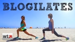 Outdoor Summer Workouts with Cassey from Blogilates | HIGH FIVE #2