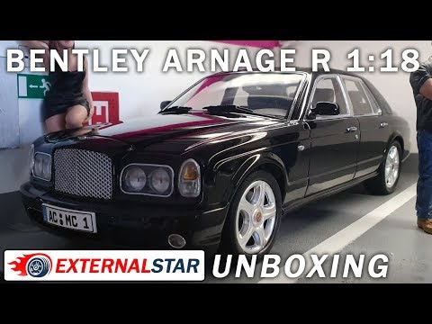 1:18 Bentley Arnage R by Minichamps | Unboxing & Review