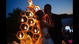 Красивая и стильная свадьба Дмитрия и Анастасии