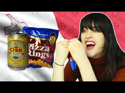 Irish People Try Maltese Snacks