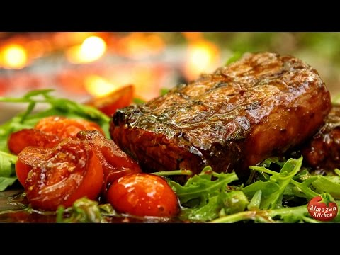 Best Grilled Loin Ever! - Cooking in The Forest
