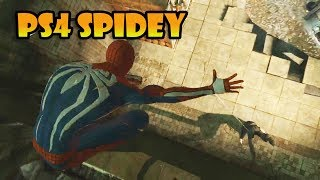 Marvel's Spider Man PS4 Gameplay 1080p (The Amazing Spiderman 2 Mod PC)